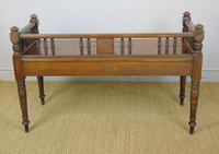 Good Aesthetic Mahogany Window Seat by Henry Pitts of Leeds (11 of 12)