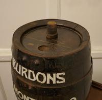 Burdons Bar Top Oak Amontillado Sherry Barrel (3 of 5)