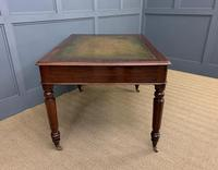 Victorian Mahogany 4 Drawer Partners Writing Table (9 of 13)