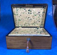 Victorian Walnut Jewellery Box (10 of 13)