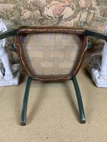 Fabulous Set of 6 Green Painted Armchairs (10 of 12)