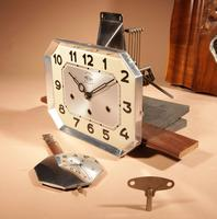 Westminster Girod Carillon Walnut, Rosewood Wall Clock French c.1940 (7 of 8)