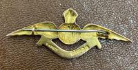 9ct Gold Boxed with Dedication RAF Brooch 1918 (3 of 5)