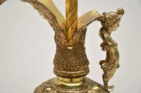 Large Antique Gilt Metal  Flagon  Lamp (9 of 11)