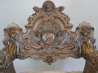 Outstanding Italian Walnut Savonarola Chair (2 of 12)
