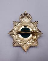 Other Ranks Helmet Plate - 1902-1914 - Alexandra Princess of Wales Own 'Yorkshire Regiment' (3 of 5)