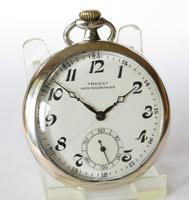 Historical 1930s Silver Doxa Pocket Watch (3 of 5)