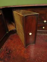 Antique 19th Century Carlton House Desk Mahogany Writing Table of Immense Character (10 of 30)