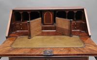18th Century Walnut & Leather Banded Bureau (4 of 17)