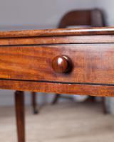 19th Century Mahogany Side Table (6 of 7)