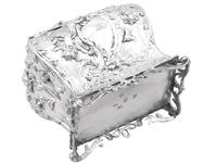 Sterling Silver Tea Caddy - Antique George III 1762 (12 of 12)