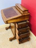 Walnut and Ambonya Davenport Desk (11 of 15)