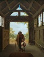 'Sunday Morning' An Enchanting Original 19thc Portrait Oil Painting' (2 of 14)