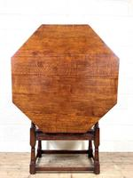 Large Early 20th Century Antique Oak Monk's Seat (10 of 10)