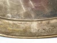 Large Danish Sporting Victorian 19th Century Danish Silver Plate Salver (8 of 31)