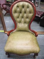 Continental Style Leather Nursing Chair (2 of 6)