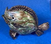 20th Century Italian Murano Glass Gold Lustre Fish (6 of 12)