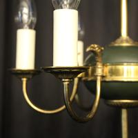 French Gilded Empire 6 Light Chandelier (2 of 8)