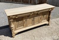 Wonderful Art Nouveau Bleached Oak Sideboard (9 of 26)
