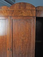 Figured Walnut 3 Door Wardrobe by Whytock and Reid (11 of 14)