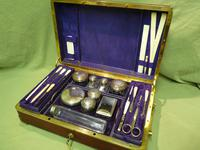 Quality French Fitted Travel – Vanity Box. c1880 (2 of 13)