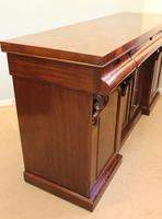 Antique Victorian Mahogany Chiffonier Sideboard Server (8 of 14)