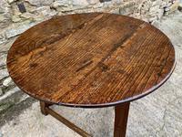Antique Georgian Oak Cricket Table (14 of 15)