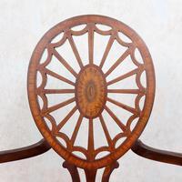 Antique Edwardian Armchair Inlaid Mahogany (10 of 10)