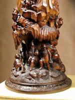 An Exceptional Very Fine Carved Lime Wood Black Forest Museum Quality Humidor / (8 of 20)