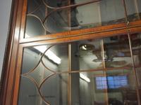 Tall George III Mahogany Cabinet Bookcase (6 of 13)