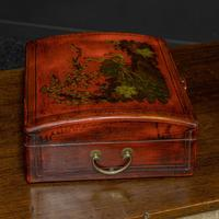 Lacquered Wine Carrier (3 of 7)