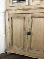 Victorian Stripped Pine Corner Cupboard with Glazed Top (2 of 11)