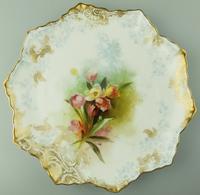 Good Royal Doulton Burslem Hand Painted Dessert Set 19th Century (4 of 12)