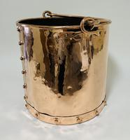 Antique Riveted Copper Bucket (8 of 14)
