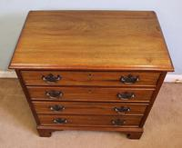 Antique Small Walnut Chest of Drawers (7 of 8)