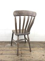 Set of 4 Antique Ash & Elm Farmhouse Chairs (6 of 8)