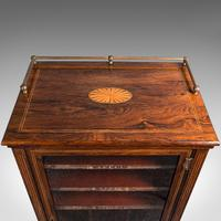 Antique Music Cabinet, English, Rosewood, Display Case, Victorian c.1900 (8 of 12)