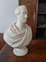 Carved Marble Portrait Bust of Gentleman (2 of 3)