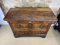 French 19th Century Burr Walnut Commode (5 of 6)