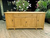Big! Old 2m Pine Dresser Base Sideboard / Cupboard / TV Stand - We Deliver!