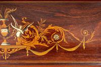 Stunning Rosewood Over Mantle Mirror (8 of 9)