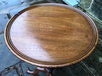 Antique Mahogany Tripod Wine Table (2 of 6)