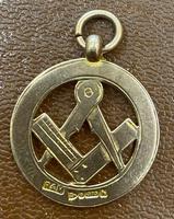 9ct Rose Gold Masonic Pendant (3 of 3)