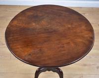 George III Mahogany Tilt Top Table Tripod Table (6 of 7)