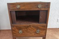 Late 18th Century Mahogany Bedside Cupboard (5 of 8)