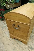Wow! Big! Old Pine Domed Blanket Box / Chest / Trunk - We Deliver! (4 of 10)
