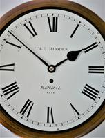 """Fabulous 12"""" English Fusee Dial Timepiece by Thomas & Edmund Rhodes 1868 (5 of 9)"""