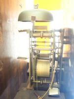Fine English Longcase Clock Prince Hunslett 8-day Striking Grandfather Clock Solid Mahogany & Oak Case (14 of 14)