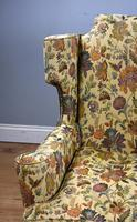 Queen Anne Style Wing Back Sofa (10 of 10)