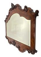 Walnut & Mahogany Mirror (2 of 4)